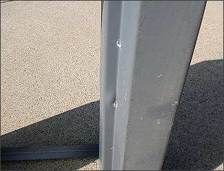 Proper Sheet Metal Fold Orientation For Bullet Resistant